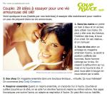 Magazine Coup de Pouce via MSN