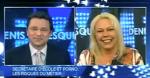 ⓒ LCN TVA Denis Lévesque reçoit Cindy Cinnamon