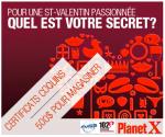 Concours: Une St-Valentin passionnée avec les Boutiques PlanetX