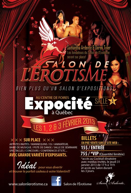 Salon de l'Érotisme Québec 2013