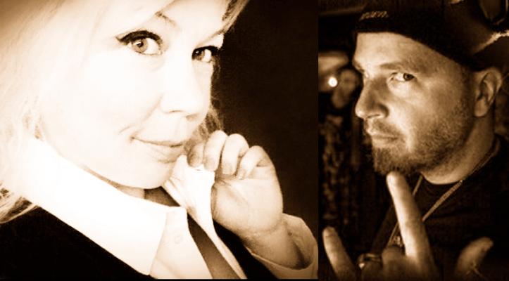 Cindy Cinnamon rencontre Marto Napoli à RadioPirate.com pour un Spécial de Noël 2013