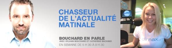 Cindy Cinnamon dans Les Vendredis Sexe à l'Émission Bouchard en Parle au FM93