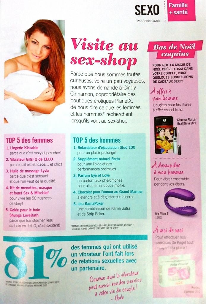 Magazine Gabrielle Édition Décembre 2013