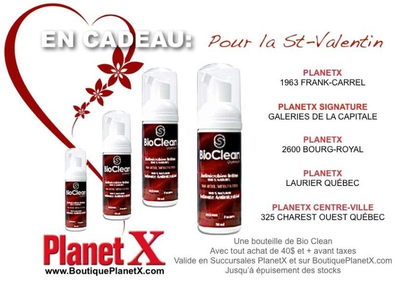 Un Cadeau pour Vous dans les Boutiques PlanetX à Québec