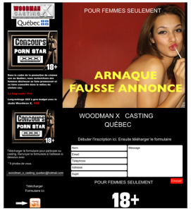 Casting Porno et Auditions: Attention aux Arnaques !