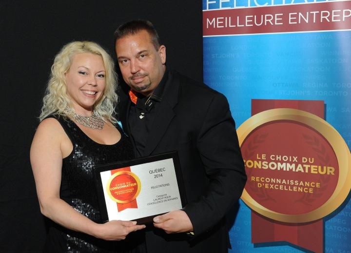 Jean-Luc Audet et Cindy Cinnamon Propriétaires des Boutiques PlanetX à Québec
