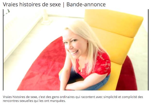 Moi et Cie: Cindy Cinnamon dans la série Les Vraies Histoires de Sexe