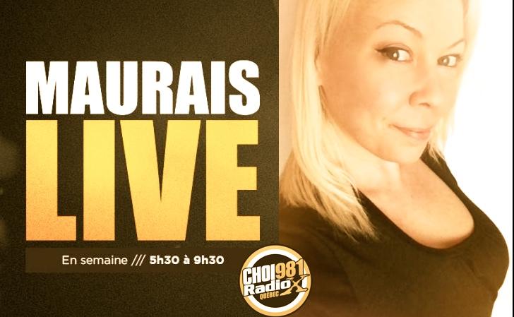 Cindy Cinnamon dans l'émission Maurais Live CHOI RadioX