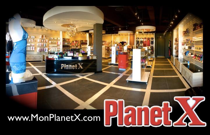 Boutique PlanetX à Lévis