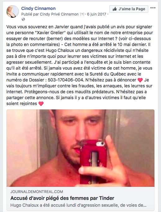 Hugo Chaloux - Xavier Grelier